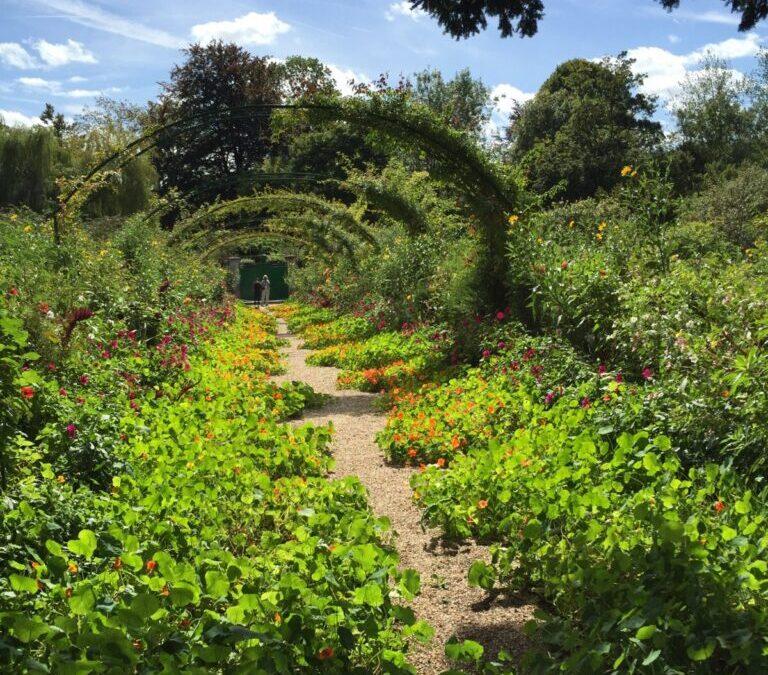 Passear no Jardim de Monet na França é uma inspiração