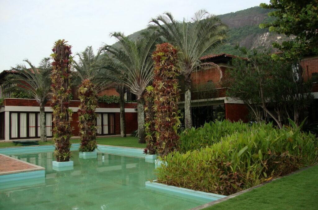 Burle Marx  e seus jardins tropicais