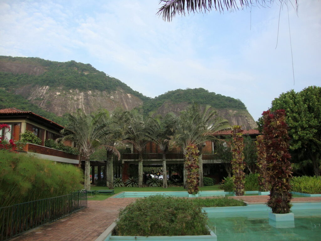 Vista jardins Burle