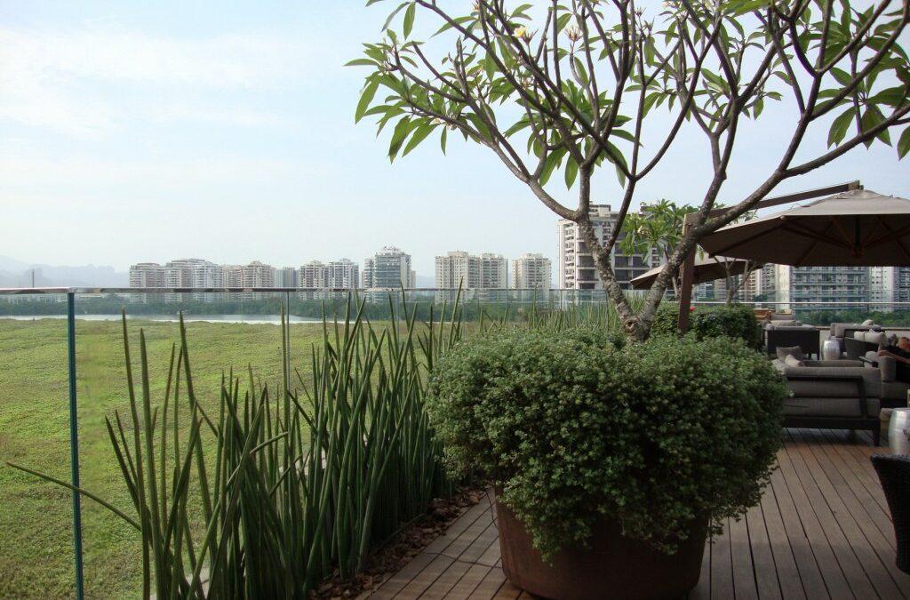 Menos concreto: Shopping tem área verde e vista para a Barra da Tijuca
