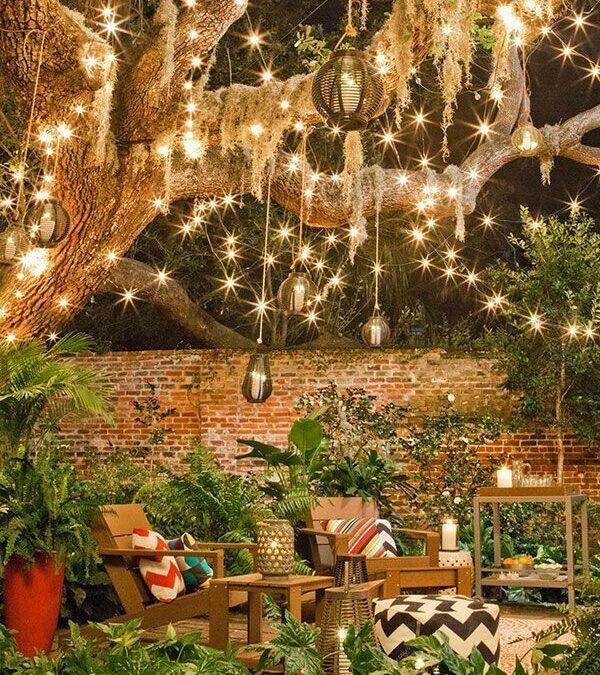 Idéias para ambientar festas no jardim neste final de ano
