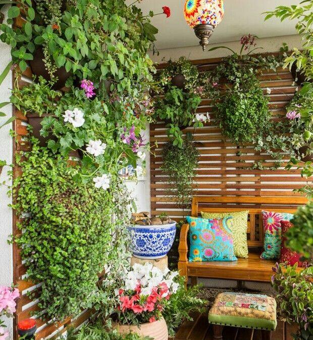 Inspire-se em jardins criados em sacadas de apartamento!