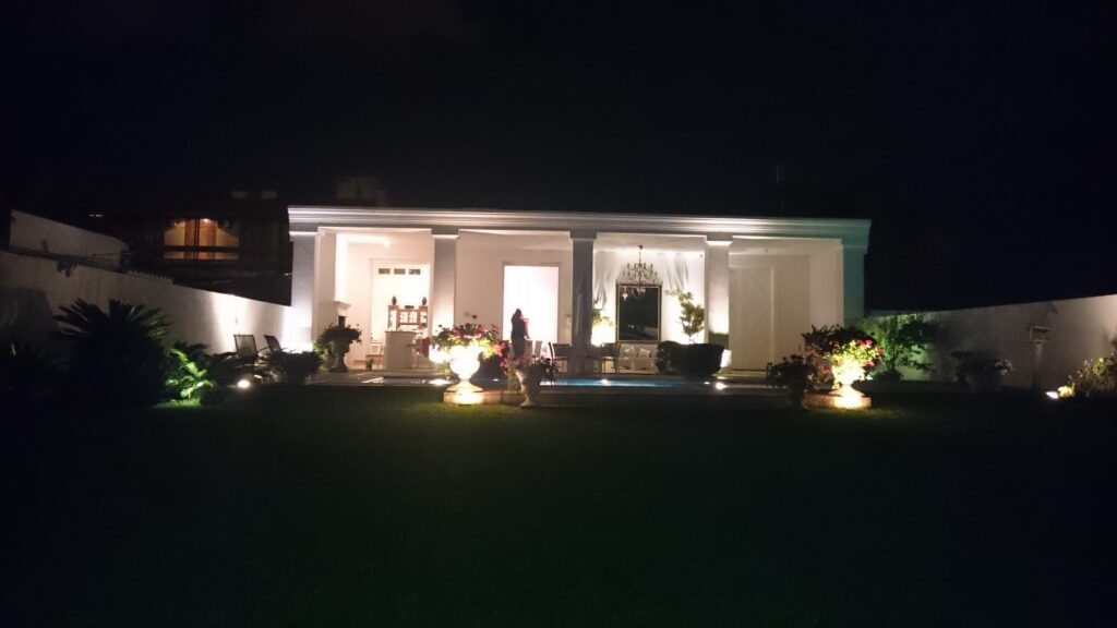 Jardim de noite