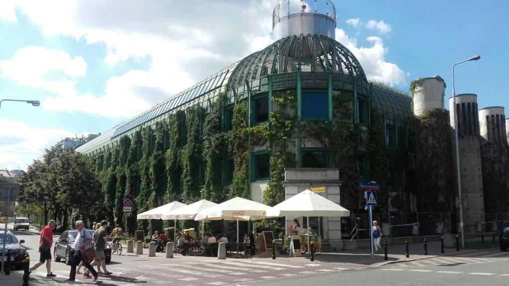biblioteca da universidade de Varsóvia