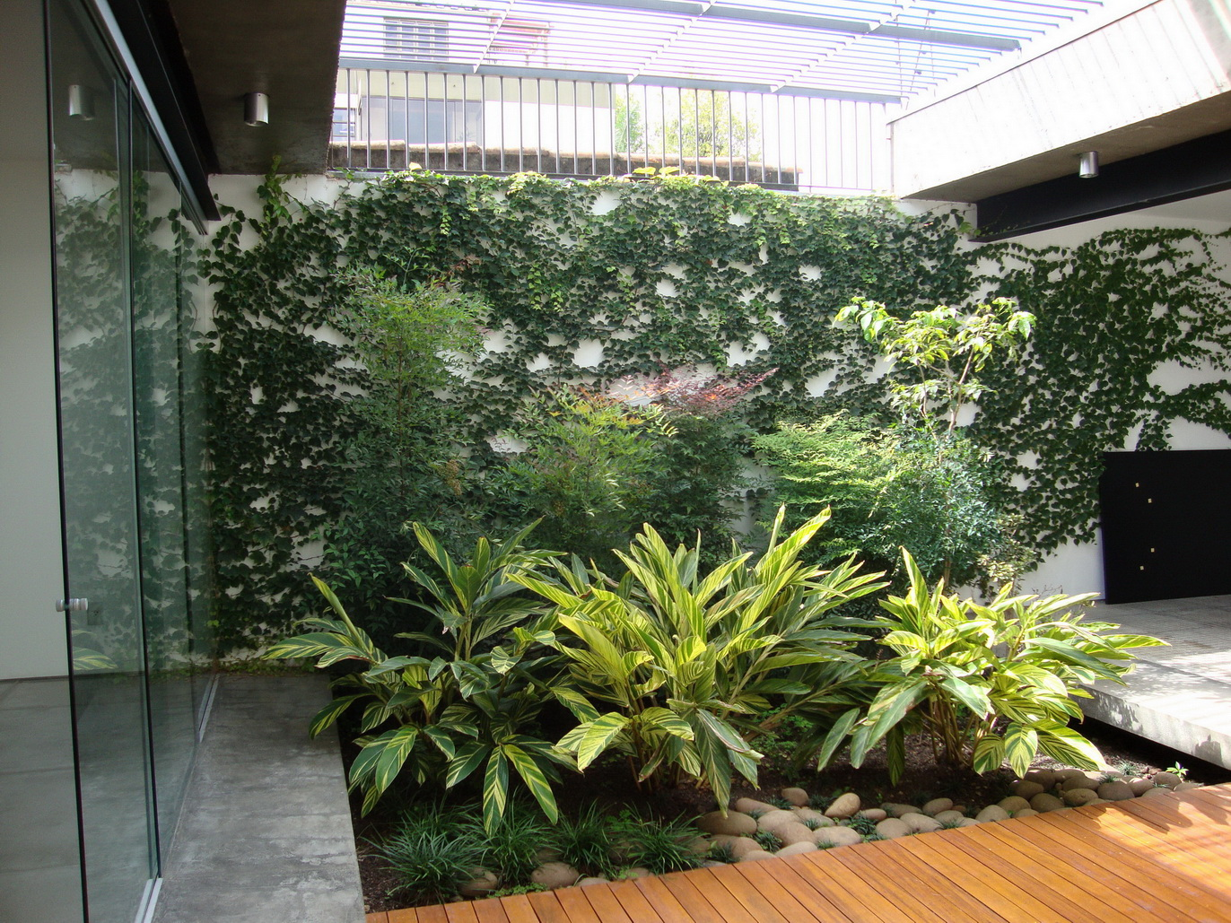 Jardim em parceria com arq. Helena Karpouzas