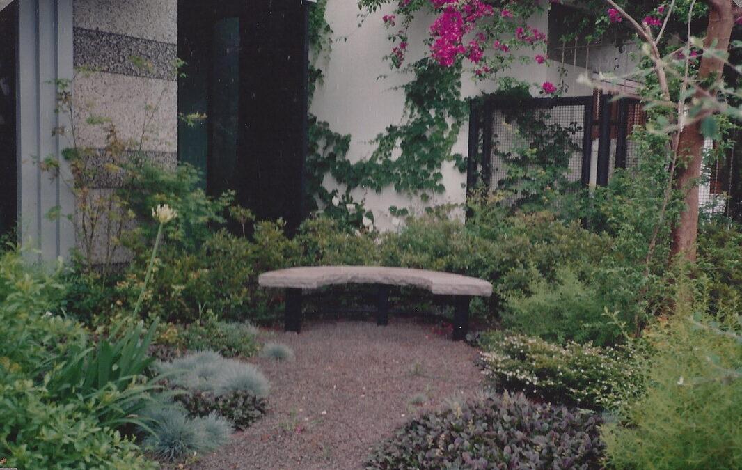 Jardim residencial