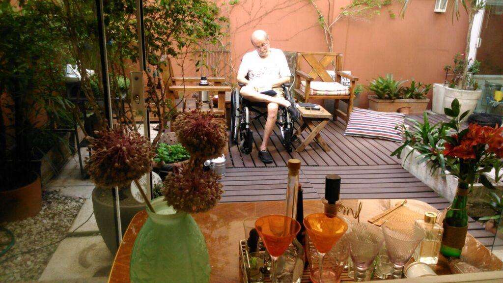 Jardim com acessibilidade