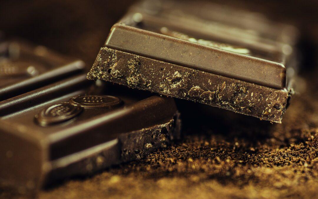 Chocolate de verdade contém muito cacau