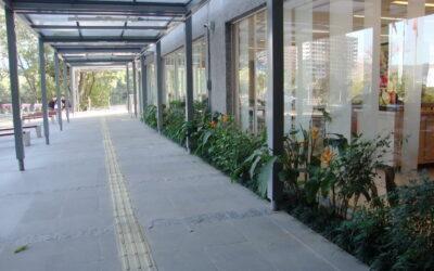Renner investe em refeitório com paisagismo